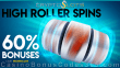 CryptoSlots 60% High Roller Spins