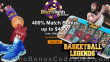 Desert Nights Casino New Dragon Gaming Game Basketball Legends Spins Special 400% Match Welcome Bonus