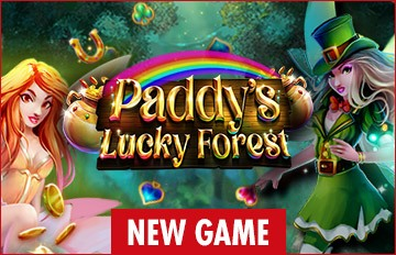 Intertops Casino Red 125% Bonus plus 50 FREE Spins on Paddy's Lucky Forest New RTG Game Special Deal