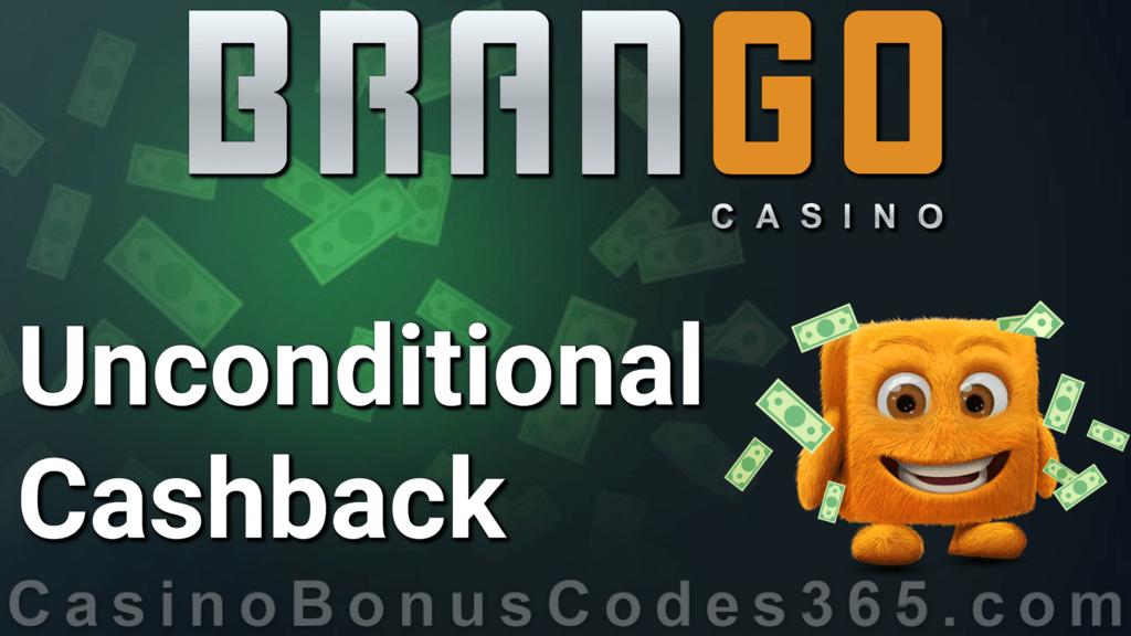 Casino Brango 15% Unconditional Cashback