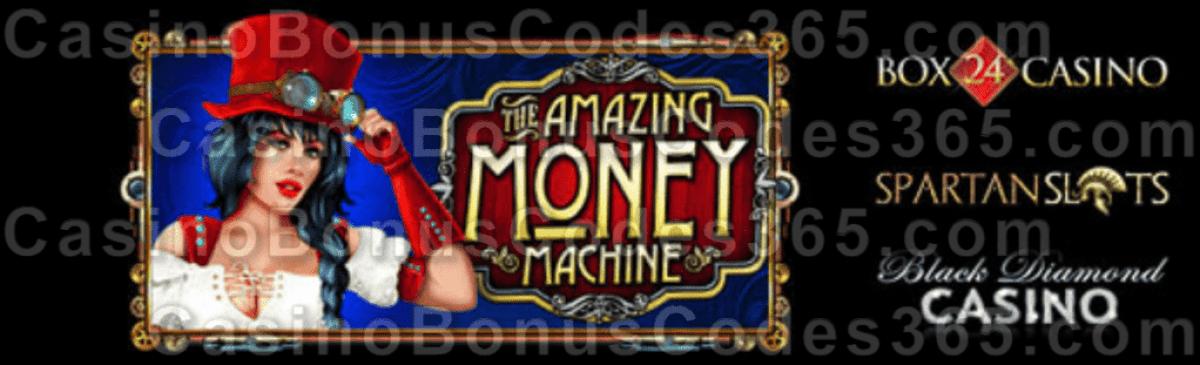 Box 24 Casino Black Diamond Casino Spartan Slots Pragmatic Play The Amazing Money Machine