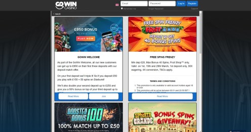 Go Win Mobile Casino