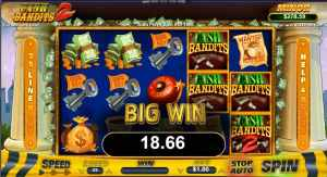 Big Win Gameplay Cash Bandits 2