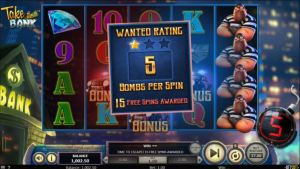 Take The Bank Betsoft Slot Free Spins Feature