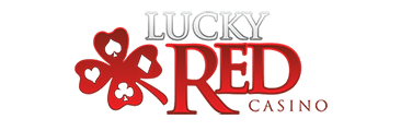 Lucky Red Casino Logo - Casino Genie