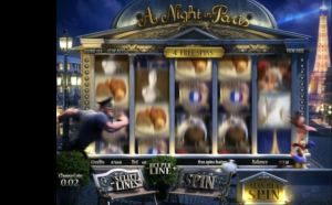 A Night in Paris Free Spins Slot Review