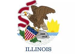 Illinois State Flag - Casino Genie
