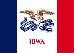 Iowa State Flag - Casino Genie