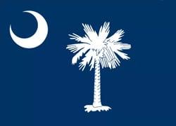 South Carolina State Flag - Casino Genie