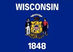 Wisconsin State Flag - Casino Genie