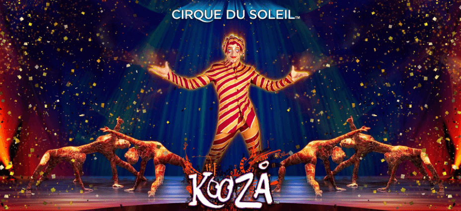 New Slot: Cirque Du Soleil Kooza (Bally Technologies)