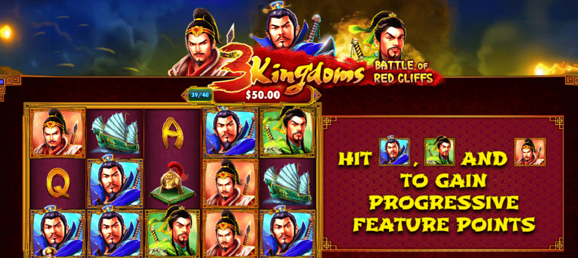 New Slot: 3 Kingdoms - Battle of Red Cliffs (Pragmatic Play) Review