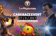 €5000 Cash Race with LetsGiveItASpin and LeoVegas