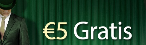 Mr Green 5 Euro gratis