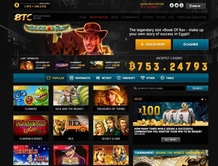 Millions bitcoin casino