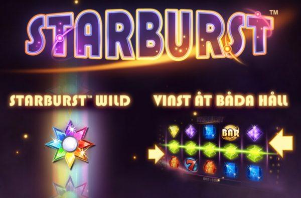 Starburst slot från NetEnt