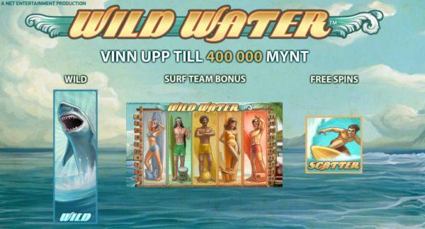 Wild Water slot från NetEnt