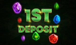 Up to €1000 and 300 Free Spins on the 1st deposit