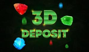 Up to €2500 on the 3rd deposit