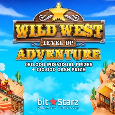 BONUS EXPLOSION – €10,000 cash, €50,000 in prizes, and one rootin' tootin' adventure