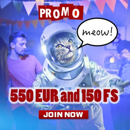 Join Kosmonaut Casino on board and start your space mission!