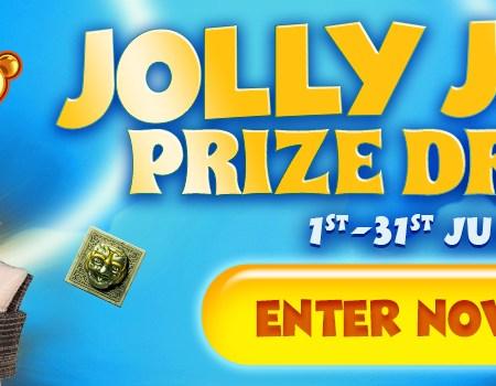 Jolly July Prize Draw at Amazon Slots Casino