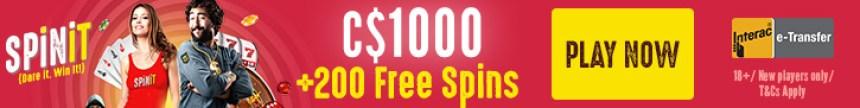 SpinIt Casino Banner