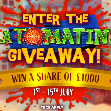 JOIN NOW – £1K La Tomatina Giveaway