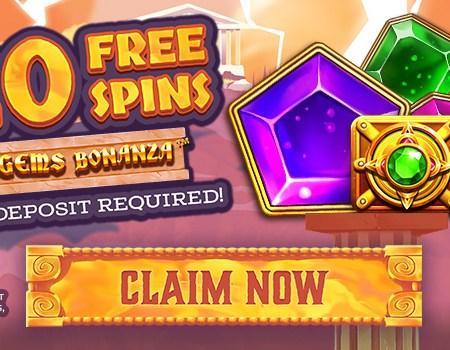 20 Free Spins on Gems Bonanza – No Deposit Required!