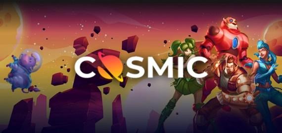 Cosmic Slot Casino Background