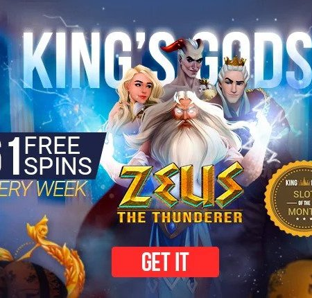SLOT OF THE MONTH at King Billy Casino