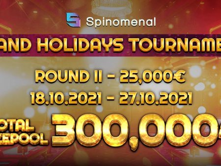 Enter The Grand Holidays Tournament For Your Share Of A €300,000 Prize Pool