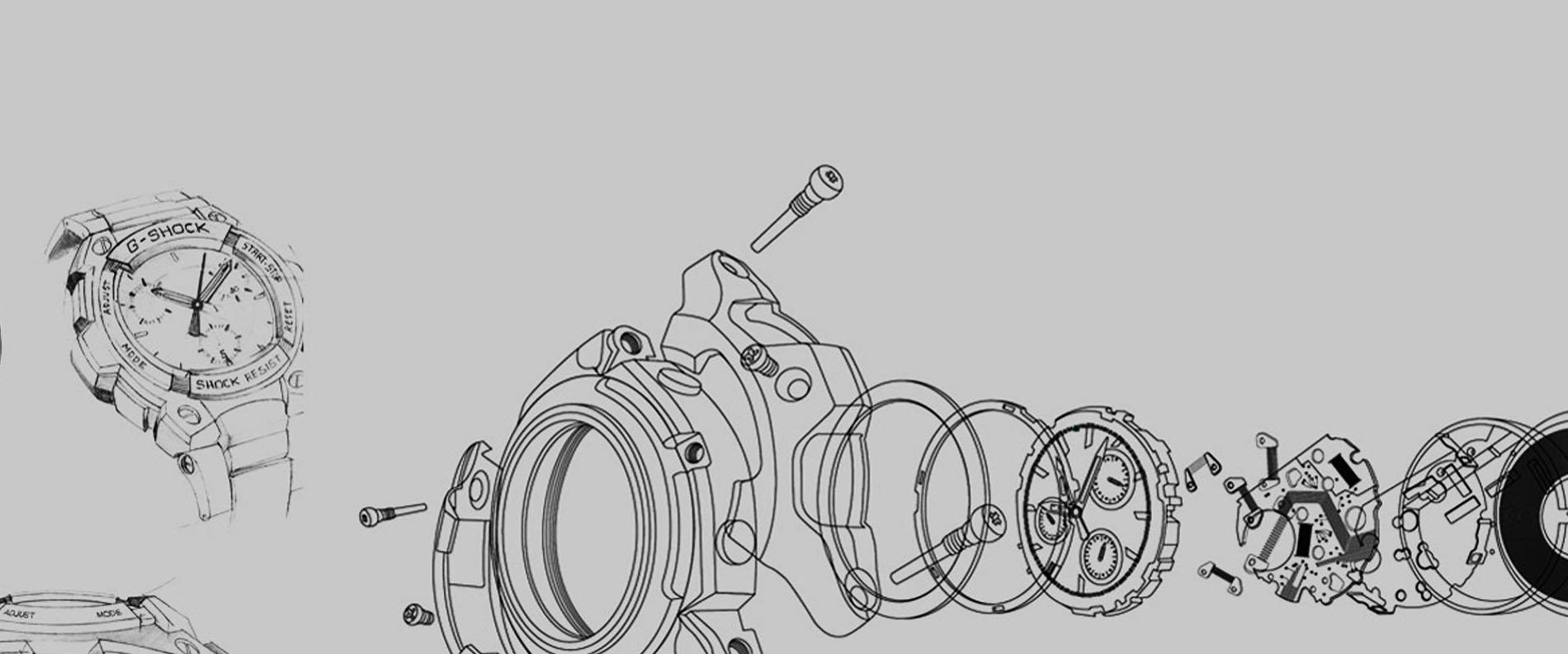 G Shock Watches By Casio