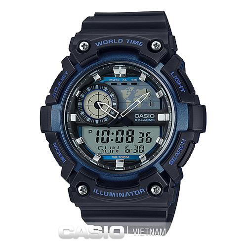 Đồng hồ nam Casio AEQ-200W-2AV