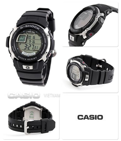 Chi tiết về đồng hồ G-Shock chống nước 200 mét