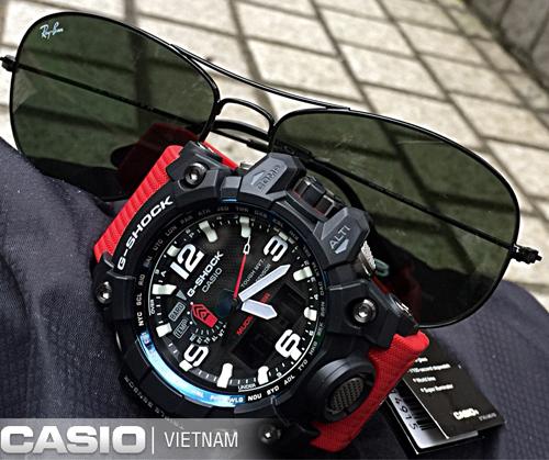 Đồng hồ Casio G-Shock Mudmaster GWG-1000RD-4A Lôi cuốn