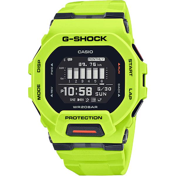 GBD-200-9   Đồng Hồ Casio   G-Shock   G-SQUAD   Kết Nối Điện Thoại   Mặt Vuông
