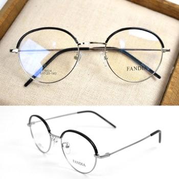 文青半框眼鏡