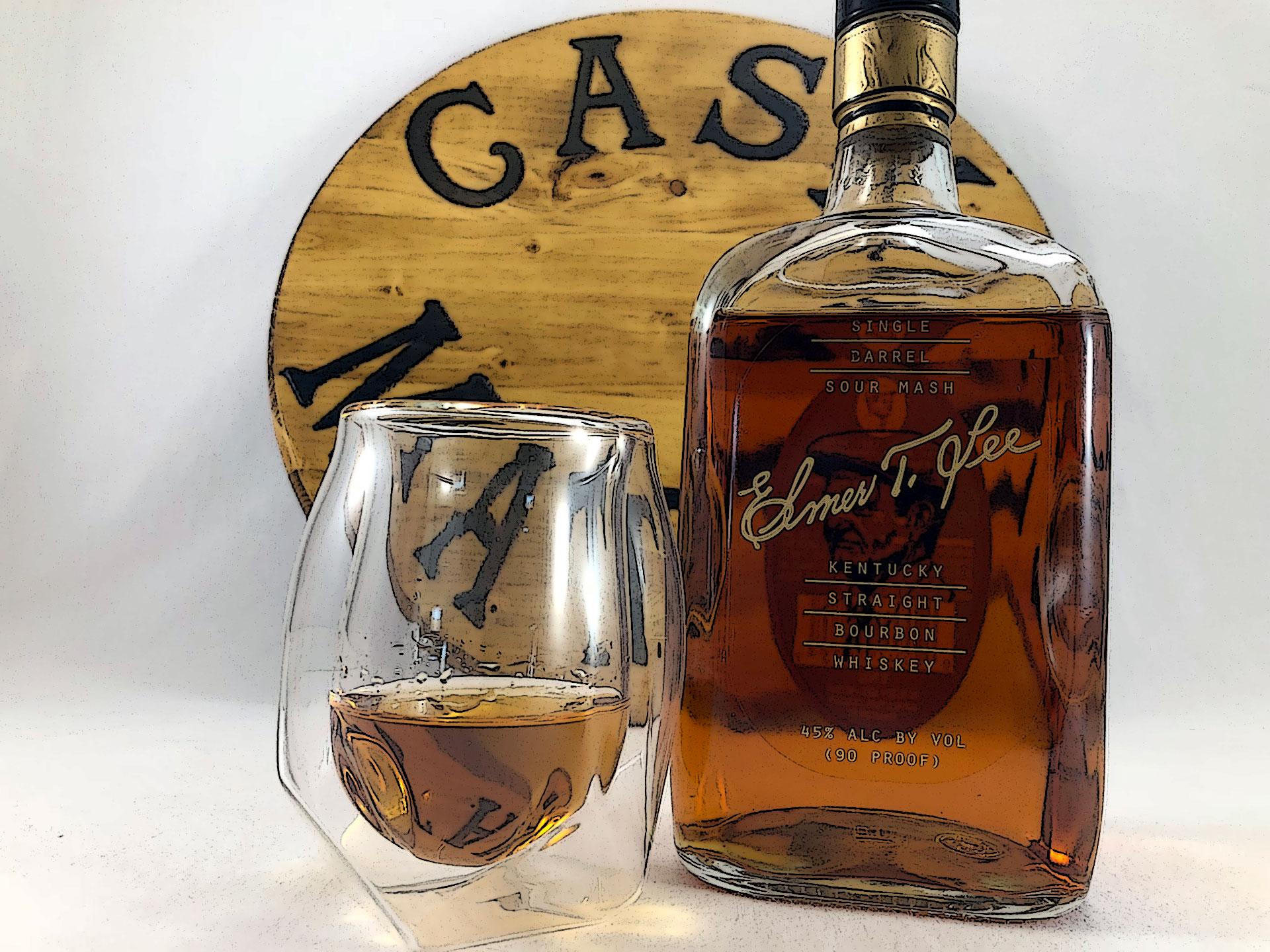 Elmer T Lee Single Barrel Sour Mash Bourbon