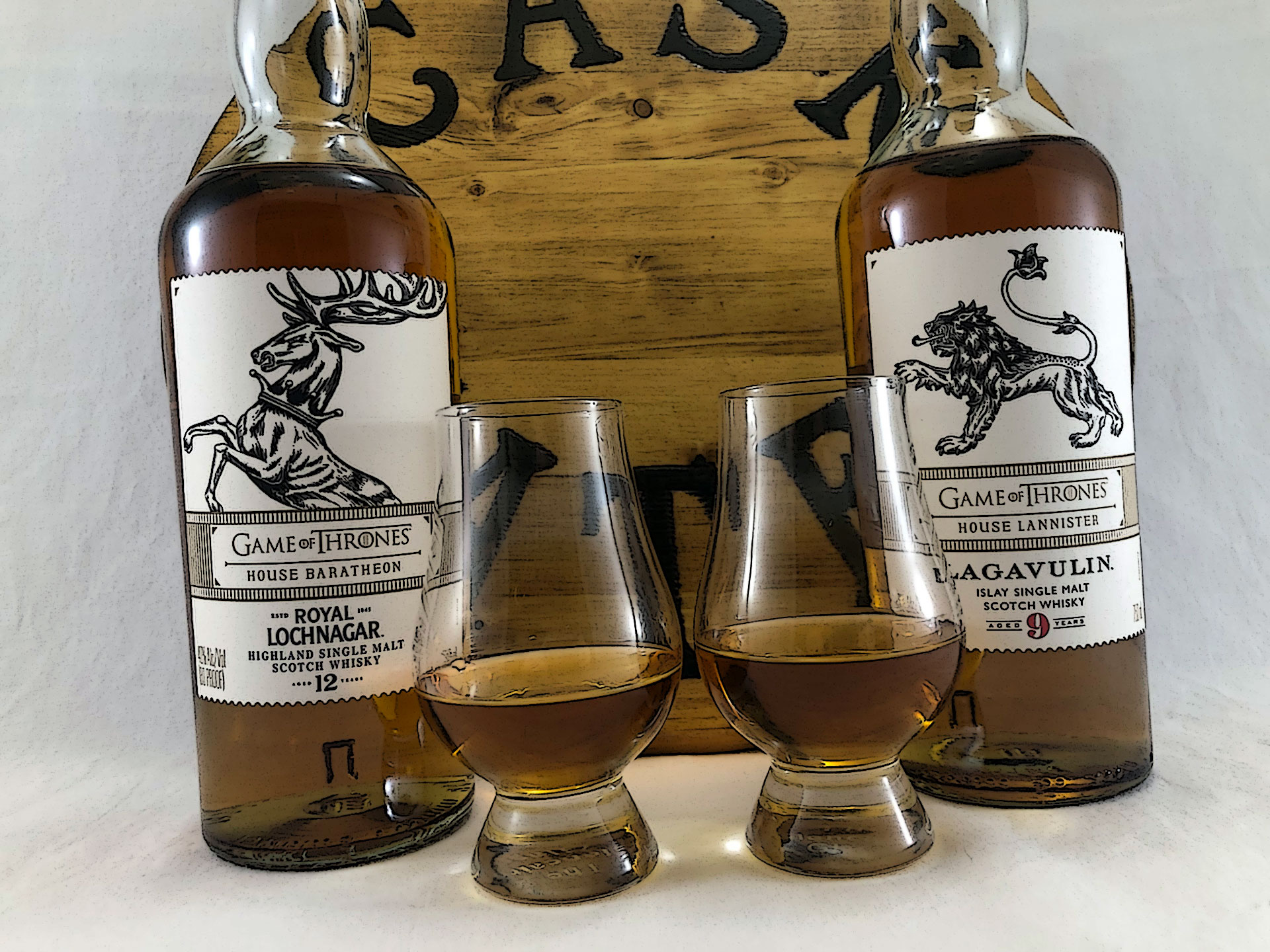 Game of Thrones Scotch's - House Baratheon and House Lannister