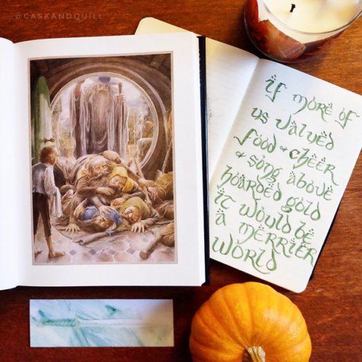 Thorin quote, The Hobbit, Tolkien