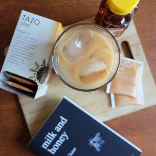 Milk and Honey iced chai tea latte