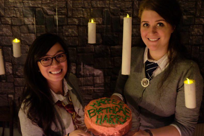 Harry Potter feast, birthday cake