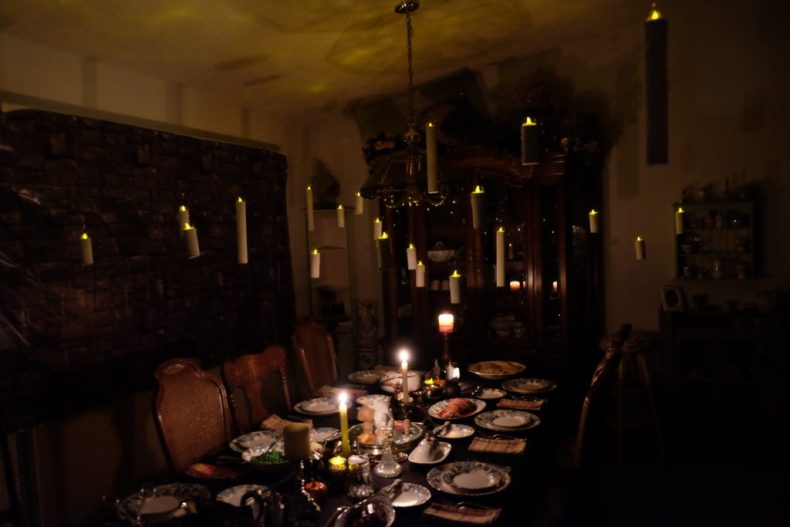 The Great Hall, Hogwarts, Harry Potter party
