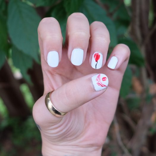 Stephen King Nail Art to Celebrate the Release of 'It'