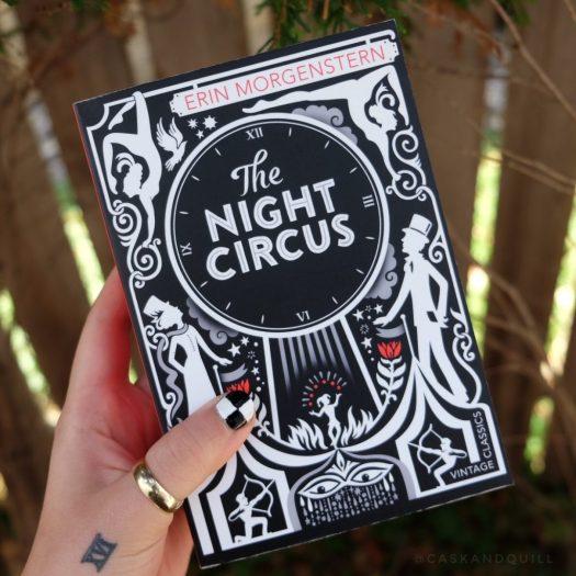 The Night Circus nail art