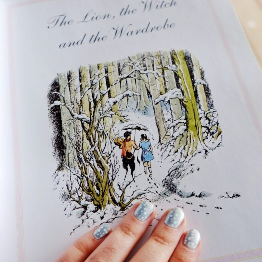 Wintery Narnia Nails Inspired by 'The Lion, the Witch and the Wardrobe'