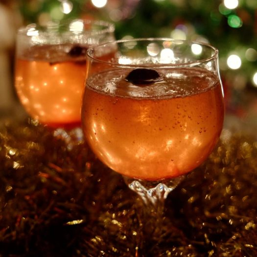Gatsby-inspired New Years Eve drink