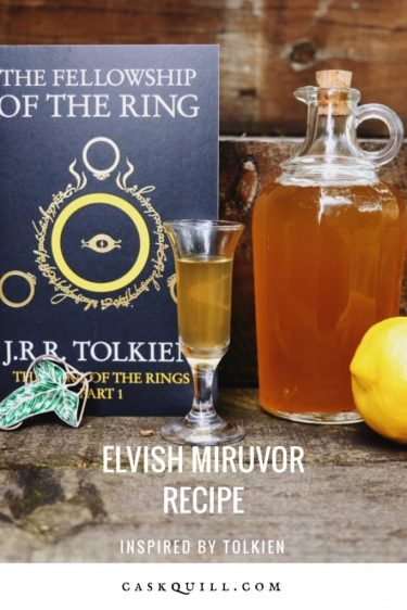 Elvish Miruvor Recipe, Inspired by Tolkien
