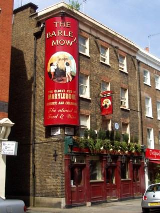 Barley Mow, Marylebone. Photo: Flickr user Ewan-M
